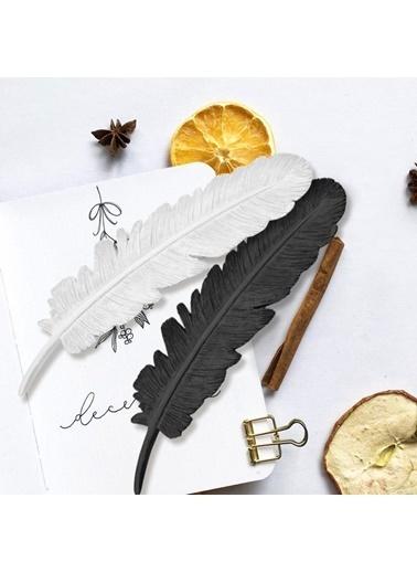 The Mia Dekor  Kuş Tüyü Siyah - 30 Cm Siyah